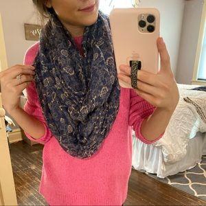 Floral wrap scarf